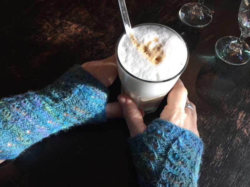 Sonnenkaffeepause mit Hida