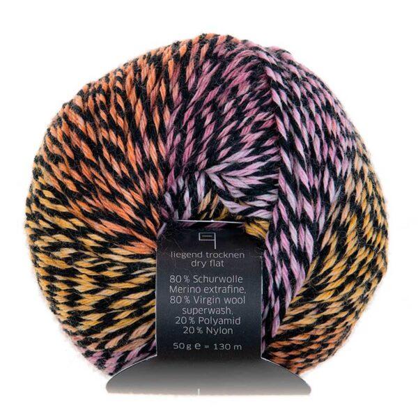 Intermezzo: Bunte 6-fach-Sockenwolle von Atelier Zitron